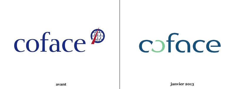 La coface simplifie son logo logonews for Compagnie francaise d assurance pour le commerce exterieur