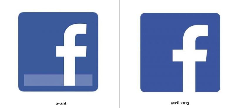 Facebook Une Nouvelle Icone Logonews