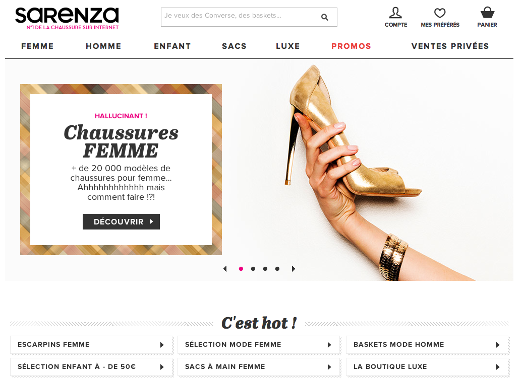 Site_Sarenza