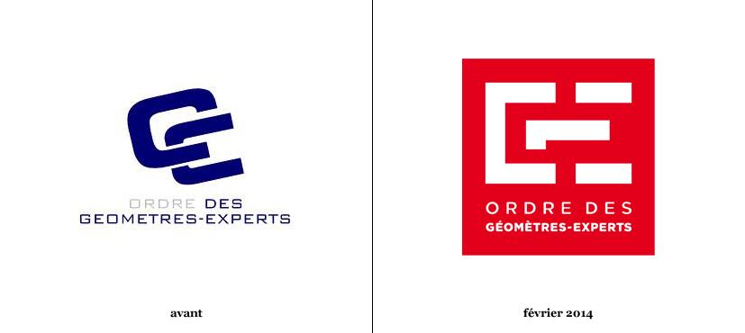 Les g om tres experts d voilent deux nouveaux logos logonews - Tarif geometre expert copropriete ...