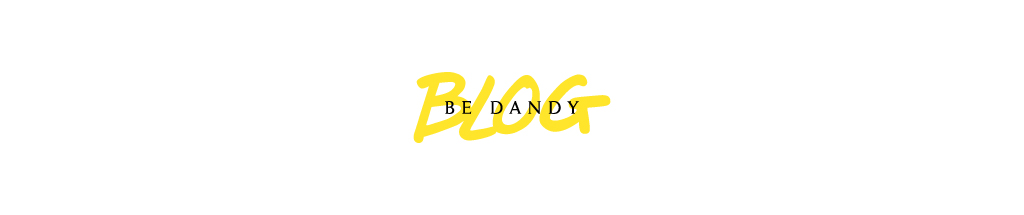 Le blog de l'agence de design Be Dandy