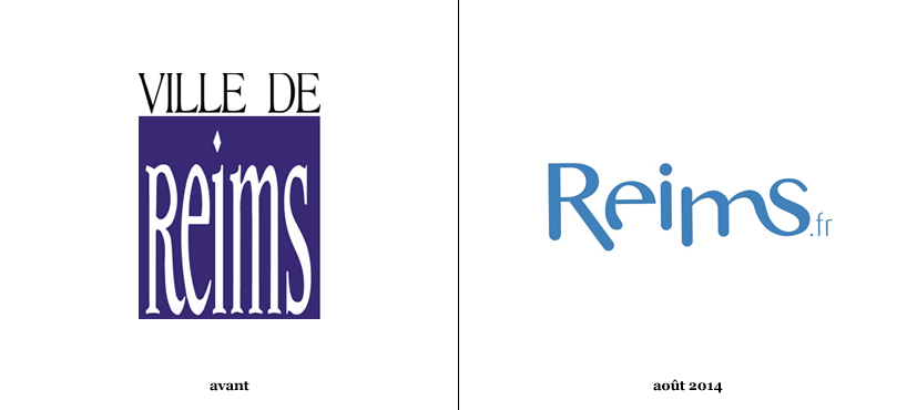 Reims pr sente son nouveau logo logonews for Piscine de reims