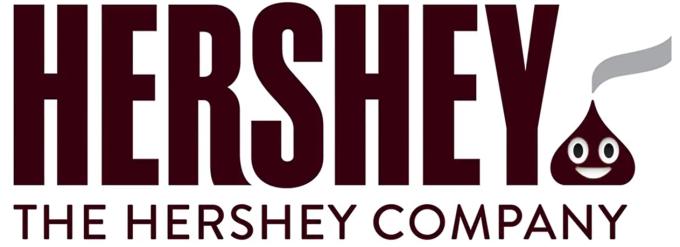 Le logo d'Hershey détourné