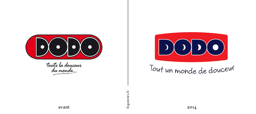 dodo a r v d 39 un nouveau logo et signature logonews. Black Bedroom Furniture Sets. Home Design Ideas
