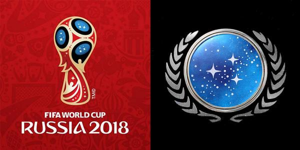 A pein d voil les d tournements du logo fifa russia 2018 logonews - Quitte moi pendant la coupe du monde ...