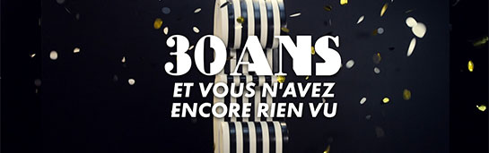 logo Canal + 30 ans