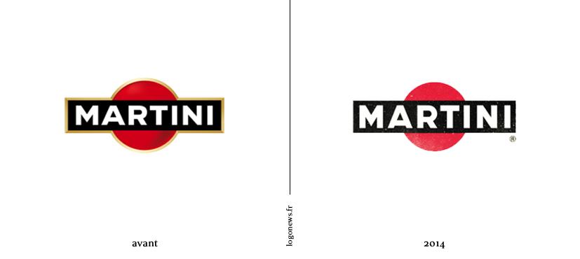 martini plus authentique avec son nouveau logo logonews