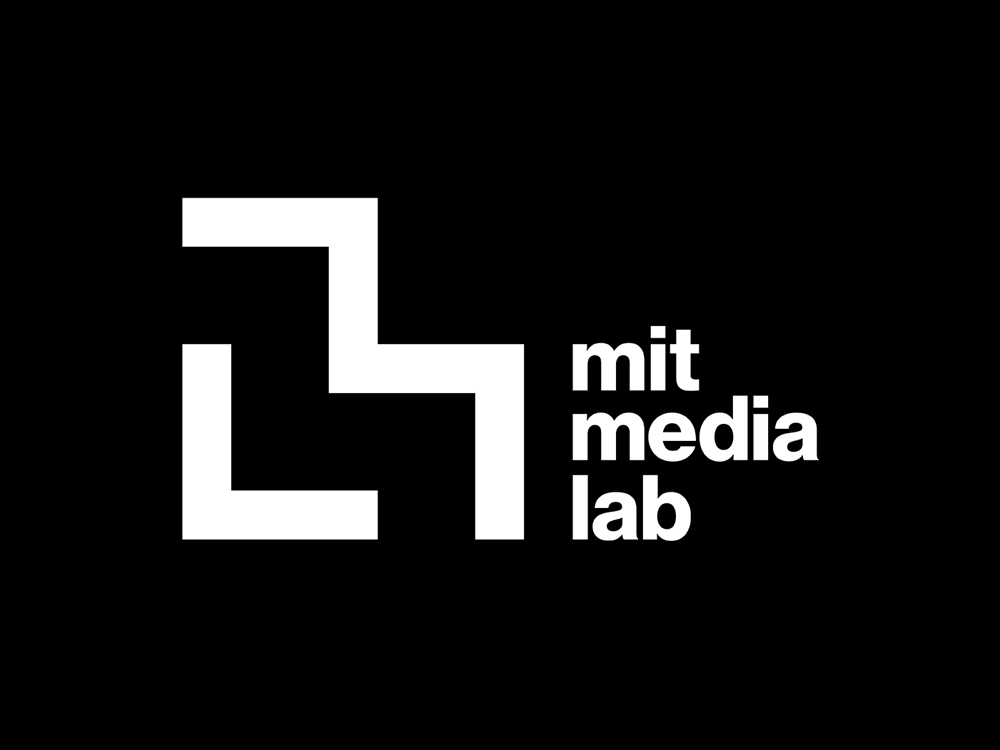 logo MIT Media Lab_white_on_black
