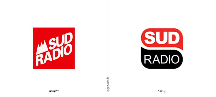 nouveau logo pour sud radio logonews. Black Bedroom Furniture Sets. Home Design Ideas