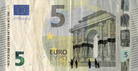 billet de banque gribouille