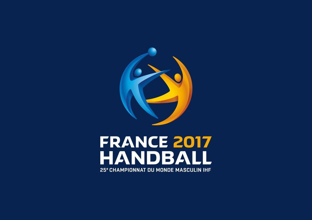 Le logo du mondial de handball france 2017 logonews - Programme coupe du monde de handball 2015 ...