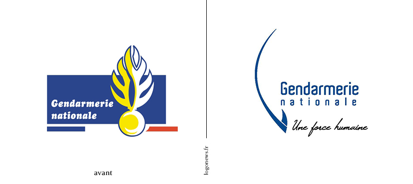 La Gendarmerie nationale a un nouveau logo » Zone Militaire