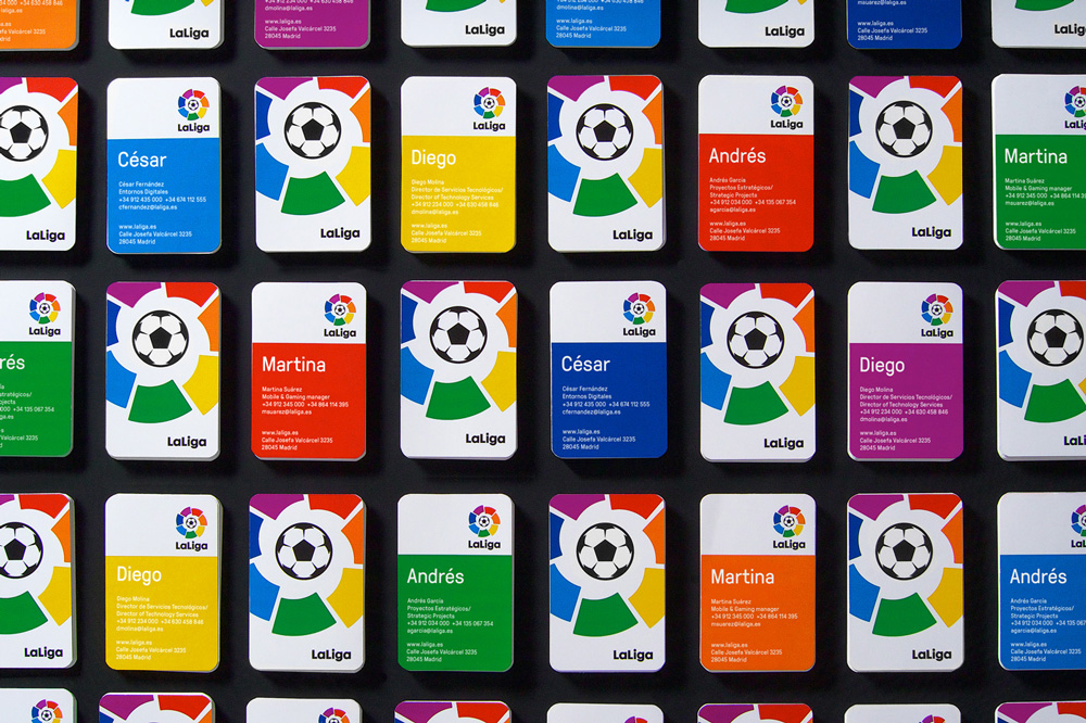 la_liga_business_cards