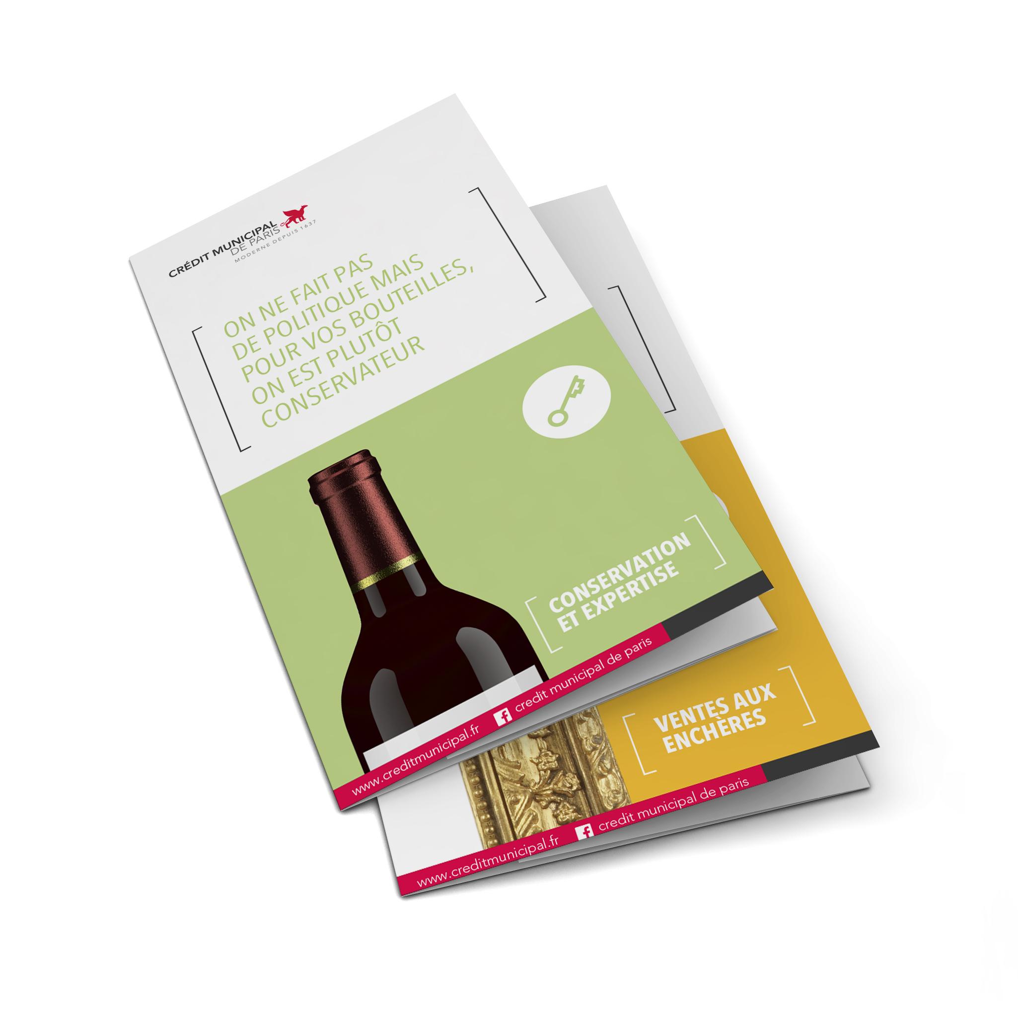 Blank leaflet. 3d illustration isolated on white background ; Shutterstock ID 214726384
