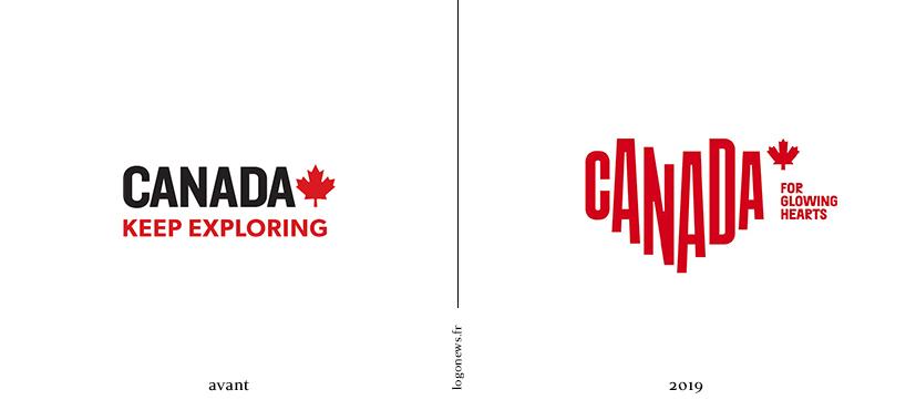 Nouveau logo Canada
